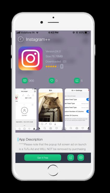 Instagram++ Screenshot