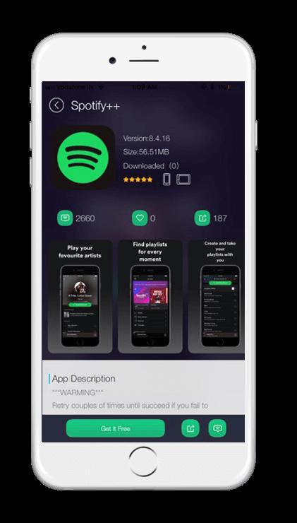 Spotify++ - TUTUApp