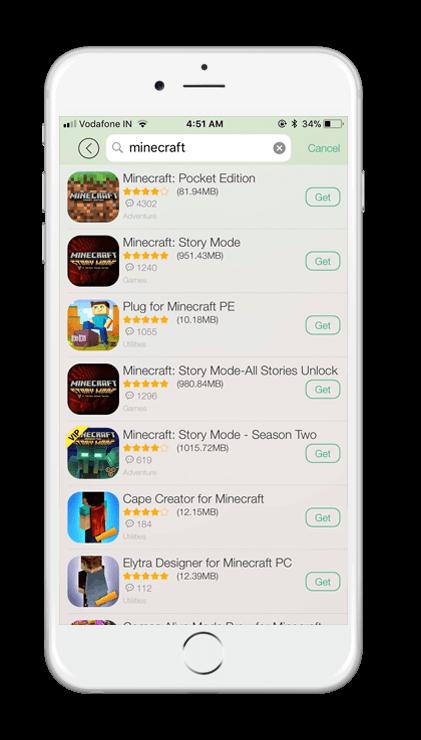 TUTUApp Minecraft PE Screenshot 1