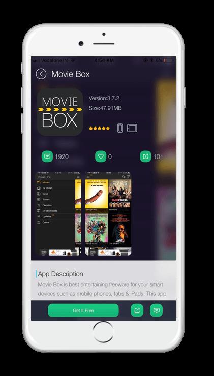 TUTUApp MovieBox Screenshot